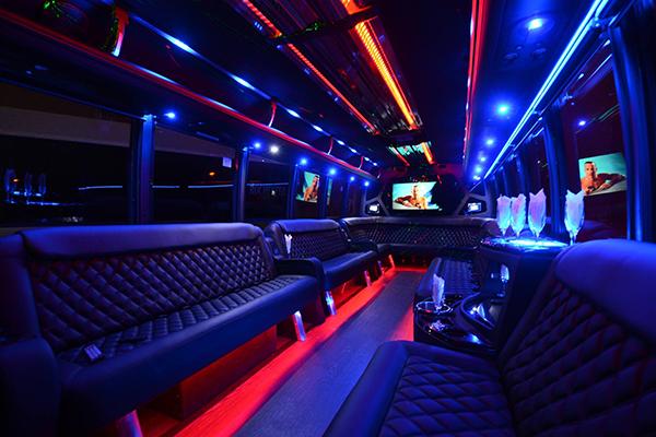 40 Person Party Bus Rental Edison
